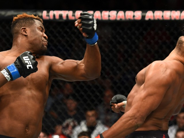 Francis Ngannou says his unprecedented knockout power is a result of child labor in Cameroon