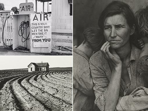 New retrospective of Dorothea Lange, known for documenting the Great Depression, at MoMA