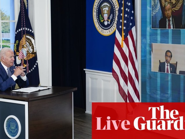 Biden announces US will donate another 500m vaccine doses at Covid summit – live