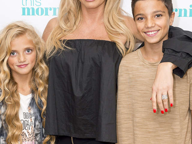 Katie Price DENIES being 'four hours late to collect kids from Peter Andre' after boozy nightclub appearance