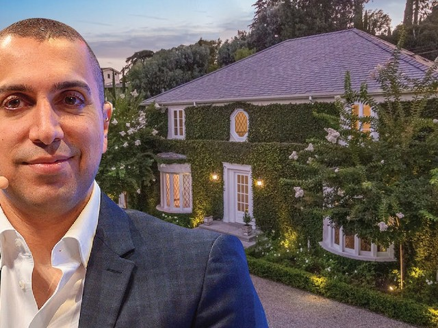The cofounder of Tinder just cut the price tag of his Hollywood Hills mansion and relisted it for $9.75 million — here's a look inside