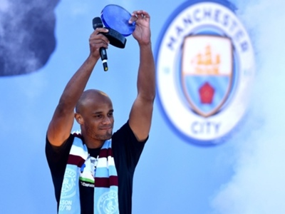 'He's coming back sooner or later' - Guardiola convinced Kompany is destined to return to Manchester City