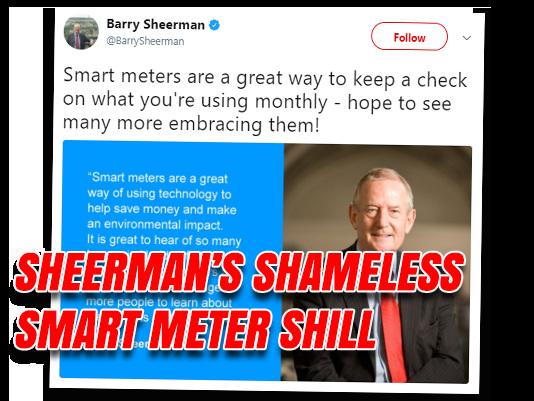 Sheerman's Shameless Smart Meter Shilling