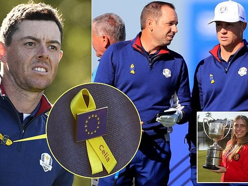 Europe's Ryder Cup stars pay tribute to murdered Spanish golfer Celia Barquin