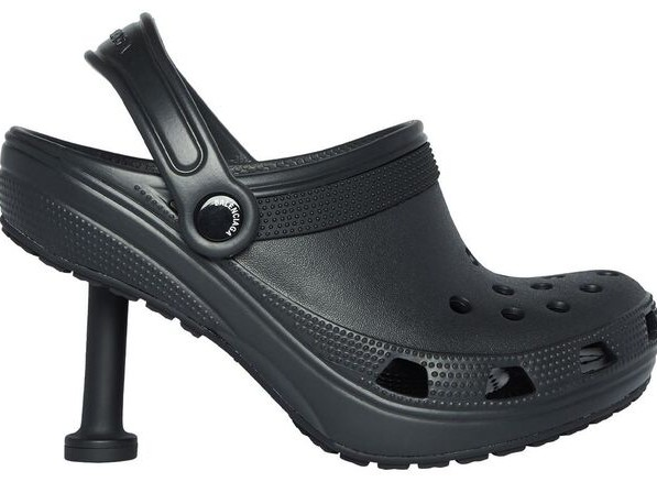 Contemporary High Heel Crossovers - The Balenciaga Crocs 2.0 Cross Colorful Crocs with High Heels (TrendHunter.com)