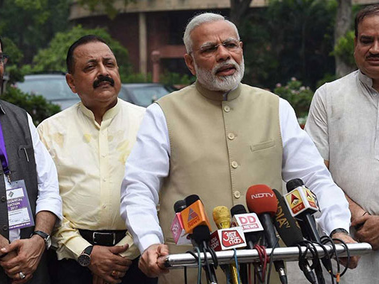 PM Modi Pulls Up Party Lawmakers For Invalid Votes In Presidential Polls
