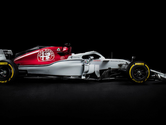 Alfa Romeo Debuts First F1 Car in Over 30 Years