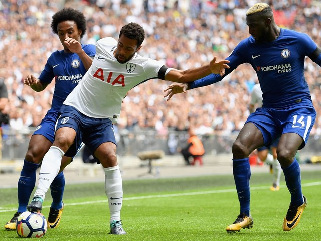 Matic who? Tiemoue Bakayoko plays on one leg against Spurs, impresses anyway