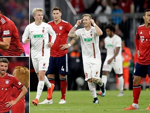Bayern Munich 1-1 Augsburg: Champions blow perfect start to the season
