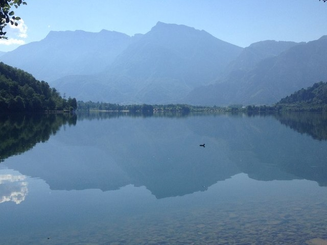 Best things to do in Lake Levico including visiting the Arte Sella sculpture park and e-biking