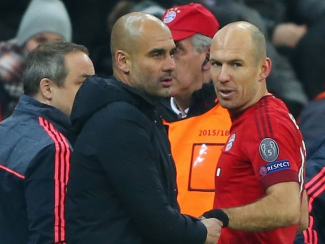 Arjen Robben reveals how Man City boss Pep Guardiola continues to improve older players
