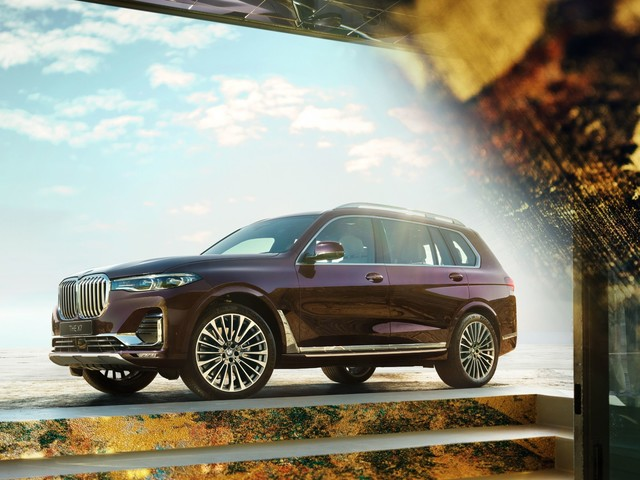 BMW Launches X7 Nishijin Ultra-Limited Edition Celebrating Ancient Japanese Technique