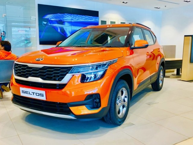 6,200 Units Of Kia Seltos SUV Sold In First Month In India, Creates Record
