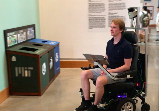 Taking a ride in MIT's self-driving wheelchair