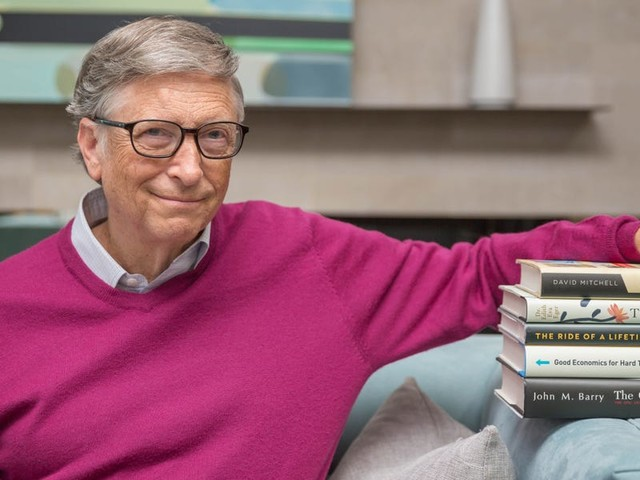 13 books Bill Gates recommends reading this summer to get you through the pandemic