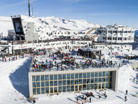 Why You Should Put Down The Jäger And Become A Freestyle Skiier at LAAX, Switzerland