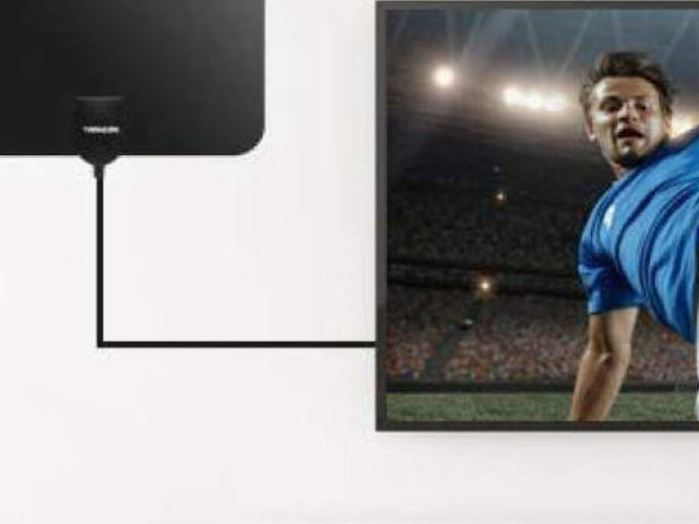 Enjoy local HD channels without a cable bill, thanks to this indoor 4K TV antenna