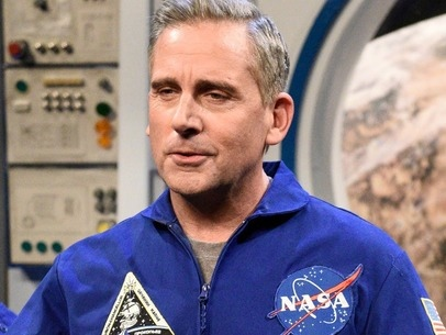 Watch: Steve Carell and Greg Daniels are working on a Space Force workplace comedy at Netflix.