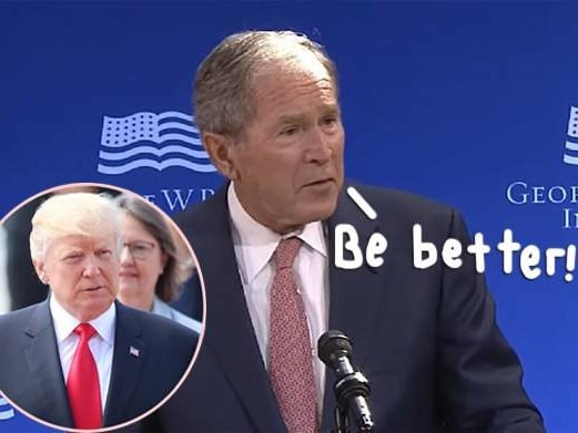 George W. Bush Seemingly Rebuked The Trump Administration — & People Are LIVING For It!