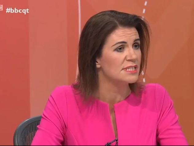 Julia Hartley-Brewer slammed over Question Time comments calling Extinction Rebellion a 'quasi-religious death cult'