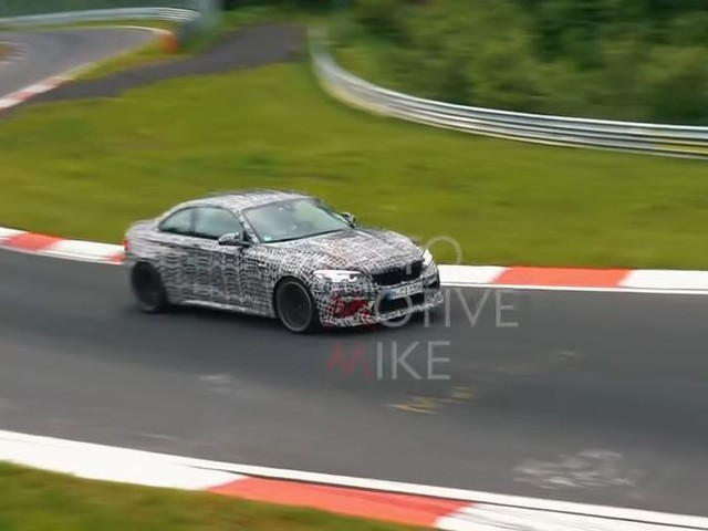 Video: BMW M2 CS Still Testing at the Nurburgring