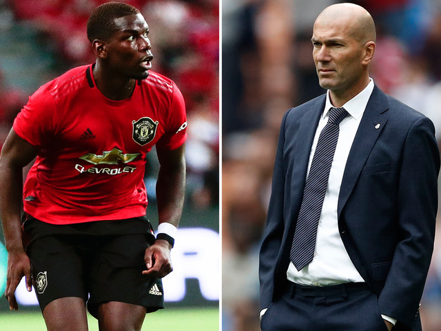 Zidane responds to Pogba rumours by insisting Real Madrid have a 'plan' in place as they chase Man Utd star