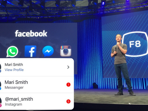 Facebook, Messenger, and Instagram unite with cross-app notifications