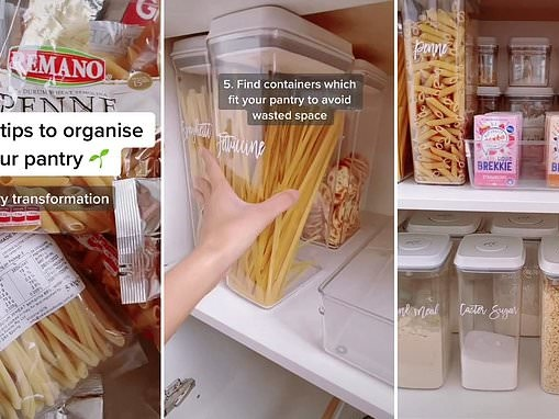 Organised mum-of-two Chantel Mila shares the five secrets behind her perfectly-organised pantry