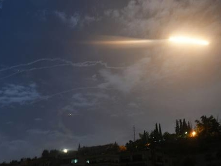 Israel carries out strikes against Iranian military targets in Syria
