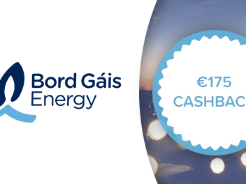Bord Gáis Energy announces €175 cashback offer to new customers