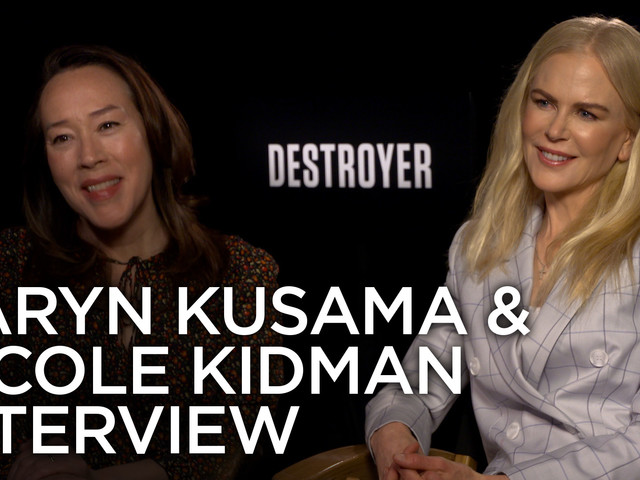 Nicole Kidman and Karyn Kusama on 'Destroyer', Realistic Violence, & Non-Linear Storytelling