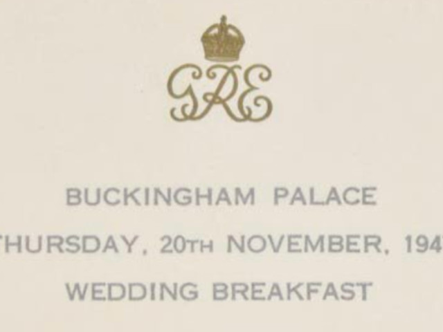 You Are What You Eat: What Royal Wedding Menus Tell Us About The Monarchy
