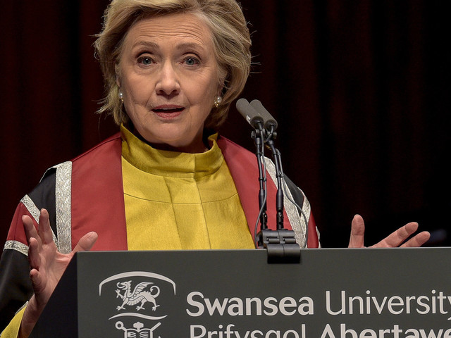 Hillary Clinton Makes Brexit Intervention Urging Clarity For Children Of EU Citizens In Britain