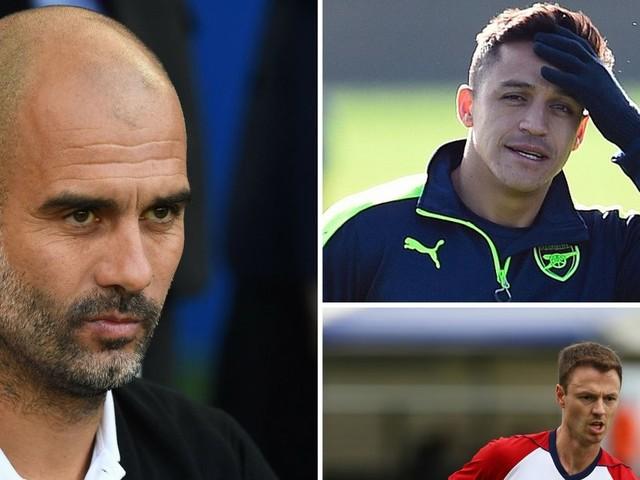 Man City news and transfer rumours LIVE Jonny Evans and Alexis Sanchez updates