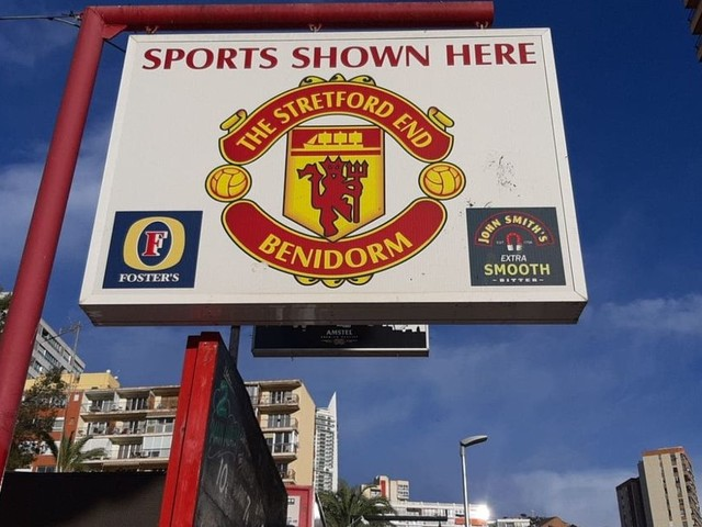 Life in the other Stretford End - the little corner of Benidorm that's forever Manchester