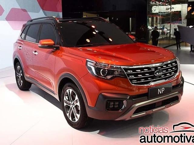 Kia NP showcased at the 2017 Guangzhou Auto Show