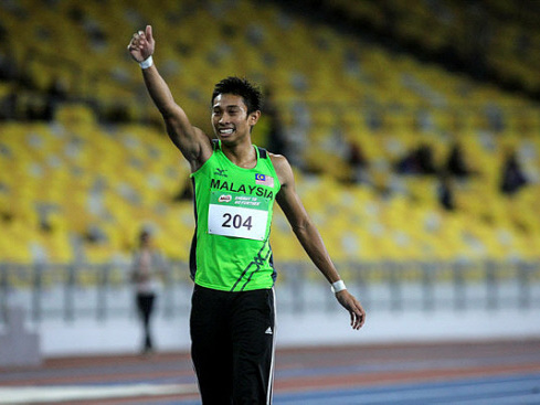 Big day for Malaysia in track and field opener