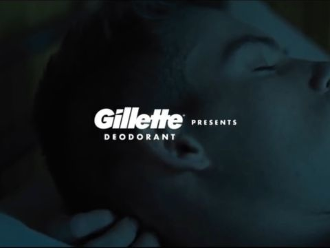Military-Themed Deodorant Campaigns - Gillette Honors Military Heroes with the Every Hero Sweats Ad (TrendHunter.com)