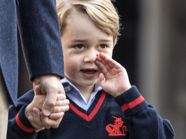 Prince George Returns To Battersea School After Woman Is Arrested For Trying To Get In Twice In 24 Hours