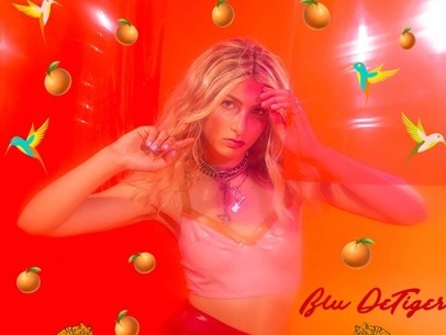 NYC based singer Blu DeTiger ups the retro fun with bass-tastic bop 'Tangerine'