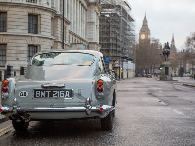 We've been expecting you… James Bond-inspired Aston Martin DB5 continuation nears production