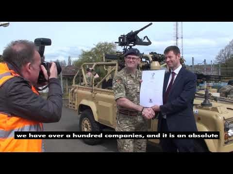 Nexus signs up to the Armed Forces Covenant