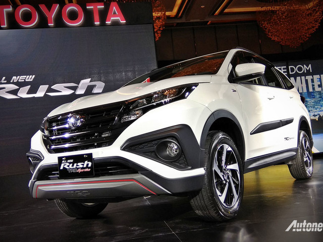 2018 Toyota Rush unveiled in Indonesia