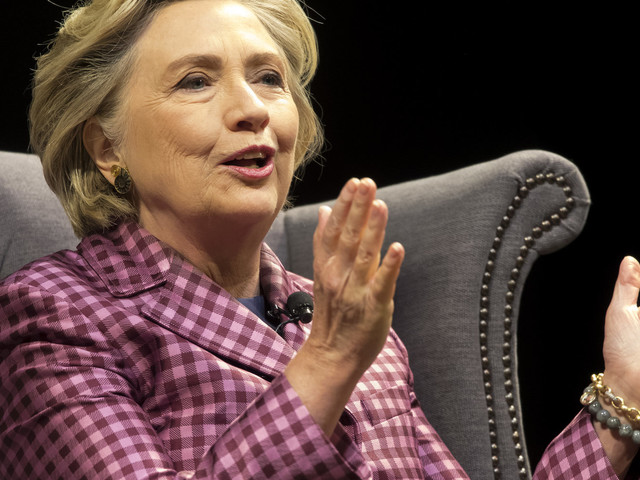 Hillary Clinton Defends Theresa May Against Sexist Attacks On Her 'Kitten Heels'