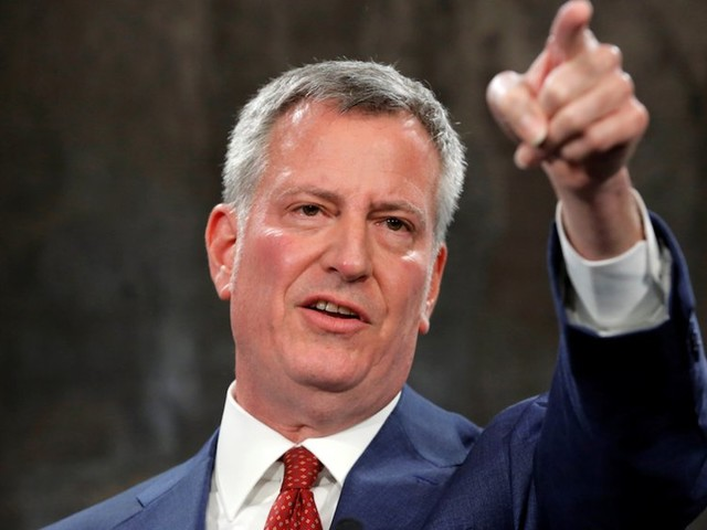 Mayor Bill de Blasio slams Amazon for scrapping its HQ2 project in New York City (AMZN)