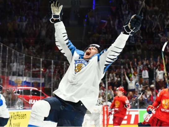 Finland end Russia's unbeaten run to reach IIHF World Championship final
