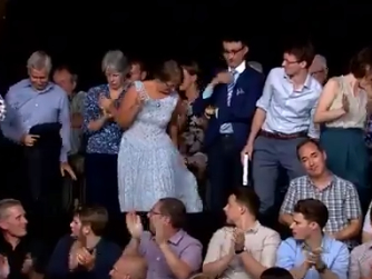 Dimbleby Ejects Corbynista #BBCQT Heckler