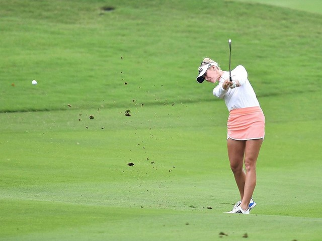 Jessica Korda shoots course-record 62 to lead LPGA Thailand