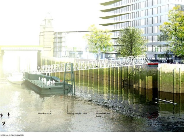 Disused riverside pier to be restored at London Bridge