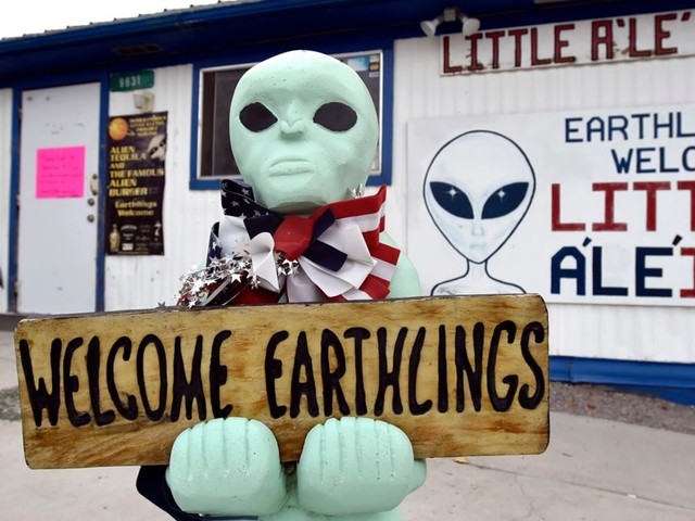 Tiny Nevada towns warn that 2 rallies drawing as many as 50,000 alien-seekers near Area 51 are 'Fyre Festival 2.0'